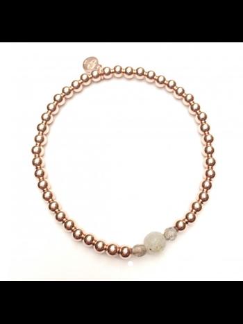 Ps Call Me Bracelet gold labradorite