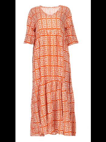 Genesis Dress Illuh long spice/coconut