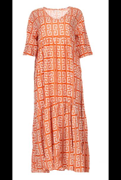 Dress Illuh long spice/coconut