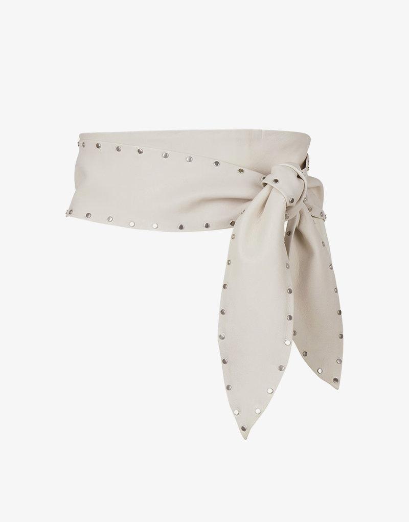 Dante 6 Markala leather studs belt