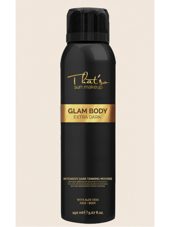That'so Glam body mousse  extra Dark