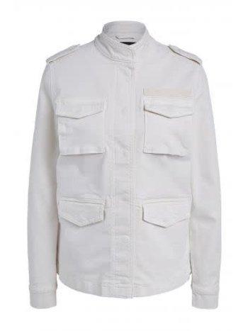SET Jacket army creme