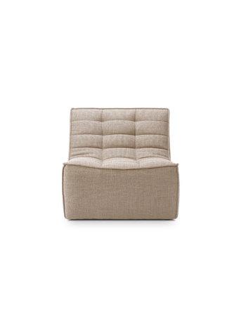 Ethnicraft N701 sofa 1 seater