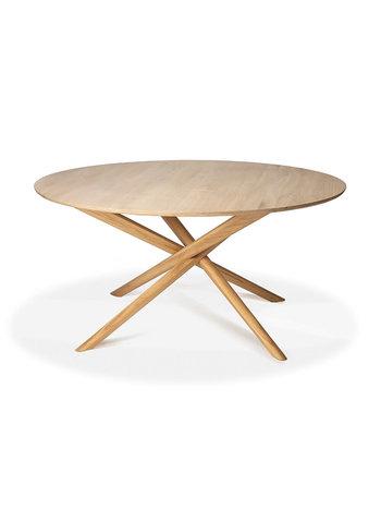 Ethnicraft Oak Mikado round table