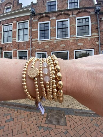 Ps Call Me Sorella x PS call me limited edition bracelet gold