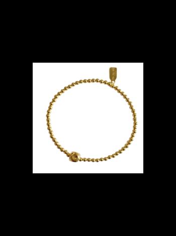 Ps Call Me Bracelet gold cube