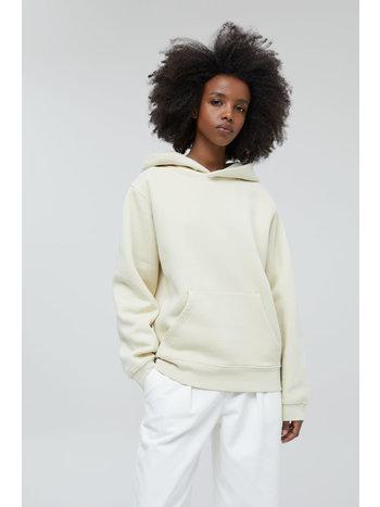 Closed Sweater hooded logo almond cream