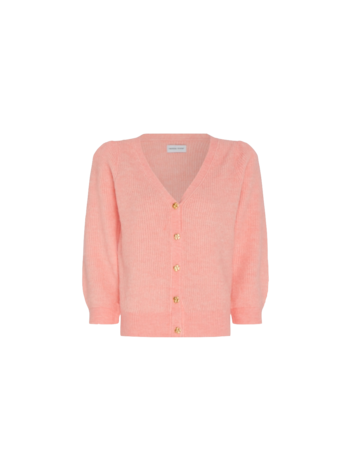 Fabienne Chapot Cardigan Sally 3/4 sleeve pink