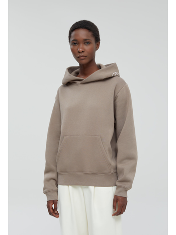 Closed Sweater hooded logo chocolate chip