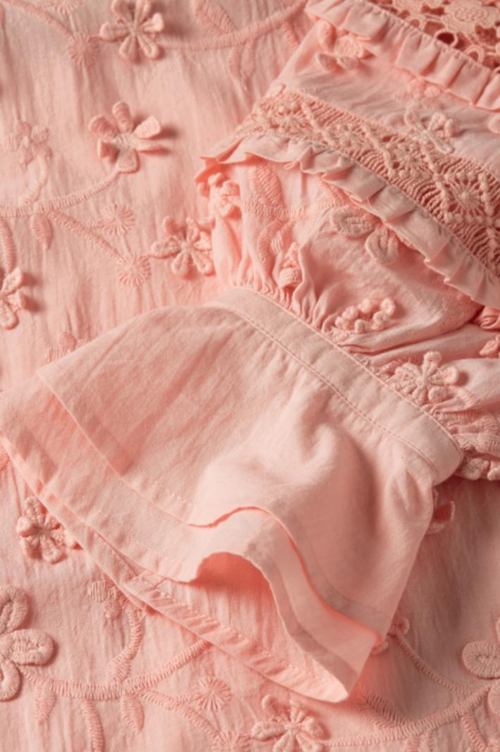Fabienne Chapot Leo blouse lovely pink