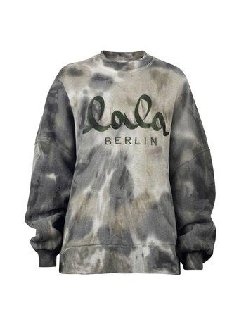 Lala Berlin Sweatshirt Izaya tie-dye