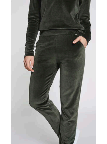 Lune Active Teddy jogger pine green