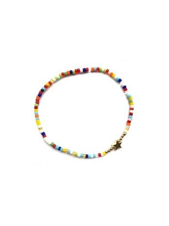 Bracelet gold coloured star