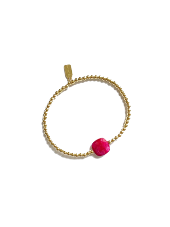 Ps Call Me Bracelet gold coloured  ruby