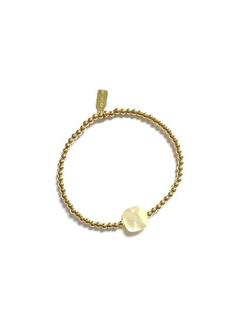 Ps Call Me Bracelet gold coloured pearl