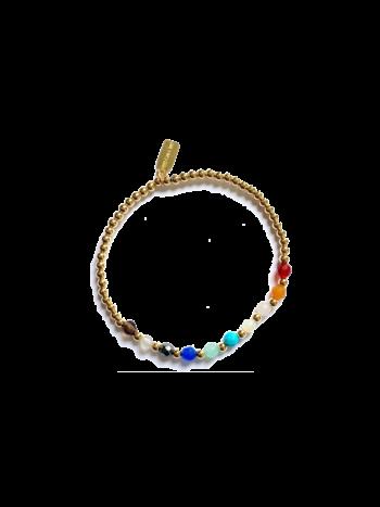 Ps Call Me Bracelet gold rainbow mix