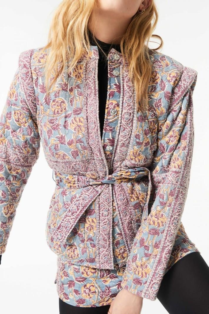 Antik Batik Jacket Fanny blue