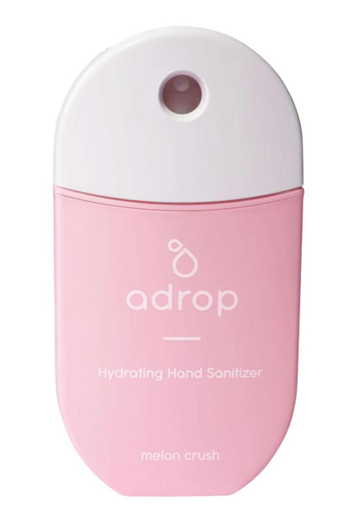 Adrop Hydrating hand sanitizer spray melon