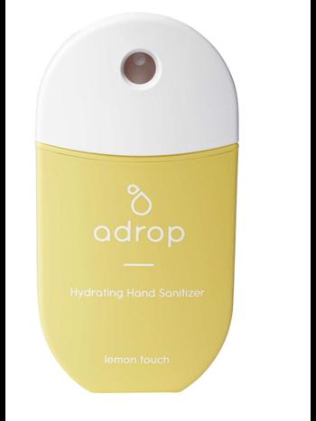 Adrop Hydrating hand sanitizer spray lemon