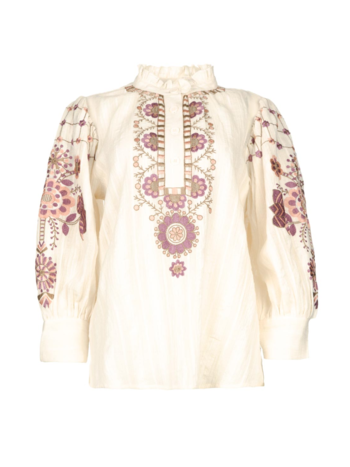 Antik Batik Blouse Cami cream