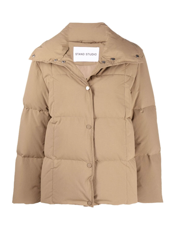 Stand Jacket Sally Olive