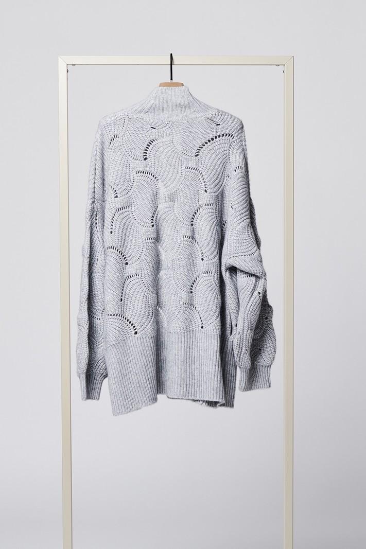 Herzen's Angelegenheit Cardigan aluminium