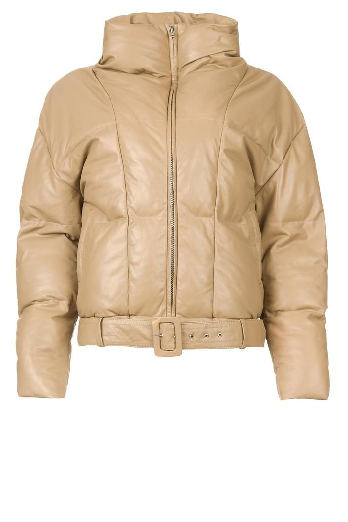 Dante 6 Daliz leather paddingjacket