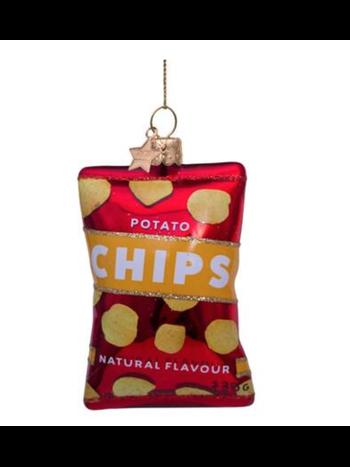 Vondels Amsterdam Kersthanger naturel chips H9cm