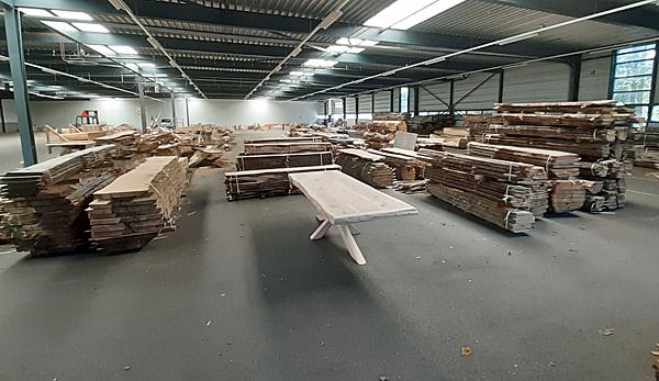 Duurzaam geoogst hout