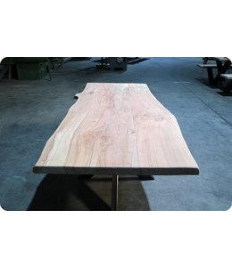 HET TAFELARSENAAL Boomstamtafel Oxford van Beukenhout 210 x 90 cm
