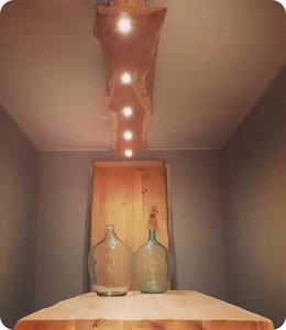 HET TAFELARSENAAL Boomstamlamp 230 cm | 5 x ledlamp met dimfunctie
