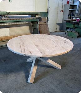 HET TAFELARSENAAL Eiken ronde tafel Hurst Ø 140 cm
