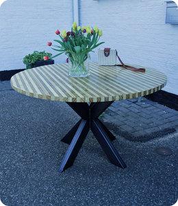 Ronde tafel Fife van Accoya® hout  Ø 130 cm