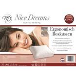 Nice Dreams® Hoofdkussen Box 50x60x10 CM - Nice Dreams