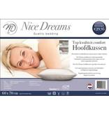 Nice Dreams® Hoofdkussen Synthetisch 60x70 cm -DUO PACK Nice Dreams