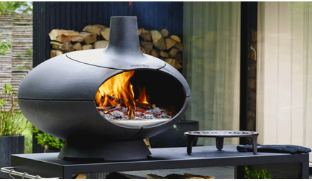 Morsø - pizza-oven op hout