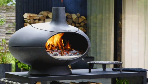 Morsø Wood fired pizza oven and barbecue - elegant outdoor products from Morsø