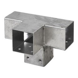 Pergola CUBIC 4-way bracket for 7x7 cm