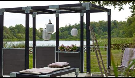 Cubic - DIY pergola or garden fence