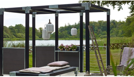 Plus Cubic - create your own pergola or garden fence