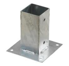 Pergola CUBIC floor bracket for 7x7 cm post-beam