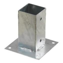Pergola CUBIC floor bracket for 7x7 cm