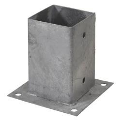 Pergola CUBIC platine d'ancrage au sol 9x9 cm
