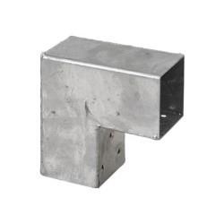 Pergola CUBIC 2-way corner bracket for 9x9 cm