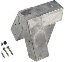 CUBIC gegalvaniseerde schommelsteun voor houten palen van 9x9 cm
