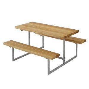 Table Pique Nique Enfant Design En Bois Meleze De Siberie