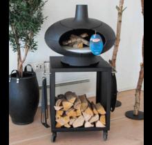 Morso Forno Terra - Pizzaoven, houtoven en barbecue of smoker met tafel 60cm