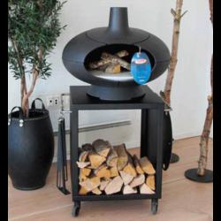 Morso Forno Terra + petite table sur roulettes 60cm