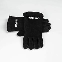 1 paar Morso leren barbecue handschoenen