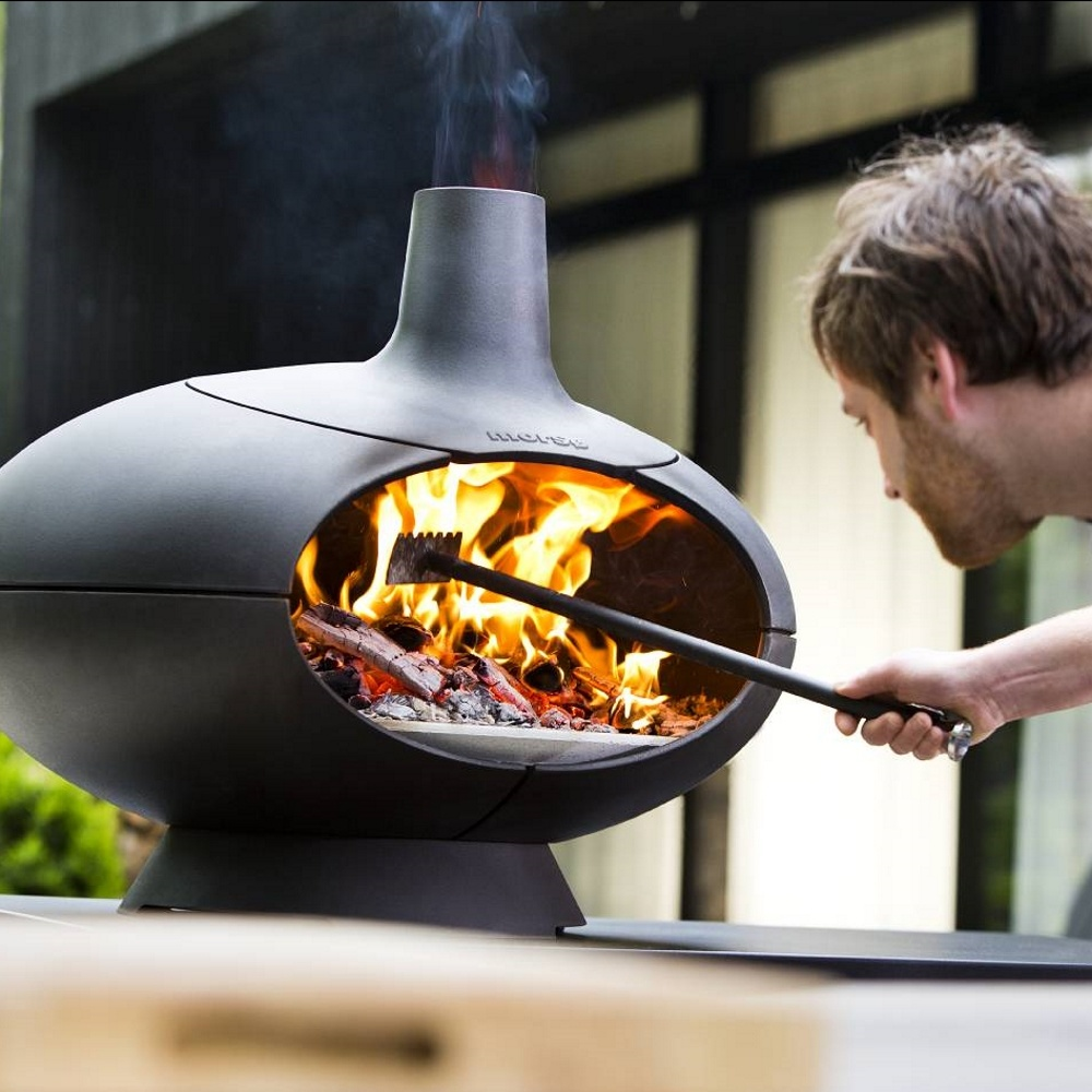 Four À Pizza Extérieur morsØ morsø forno - outdoor pizza, grill and wood oven